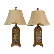 Horchow Home Decor 76 Off Horchow Horchow Hand Painted Table Lamps Decor