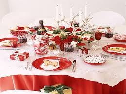 Christmas Table Decoration Simple by Dining Room Place Settings Christmas Table Setting Simple