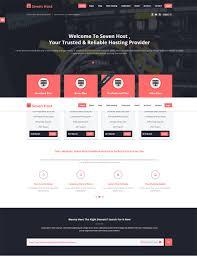 hosting templates 28 images 39 best web hosting website