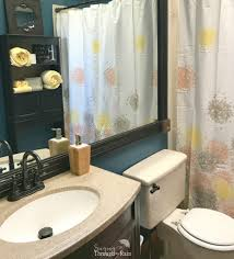 spring bathroom refresh how to paint a small bathroom