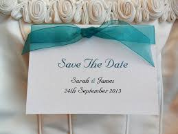 save the date cards free ribbon save the date cards
