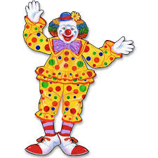 amazon com beistle 55020 jointed circus clown 30 inch kitchen