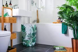theme bathroom a botanical themed bathroom on a budget ukhomebloghop the