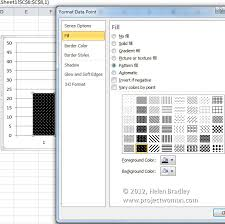 pattern fill download excel pattern fills for your excel 2007 charts projectwoman com