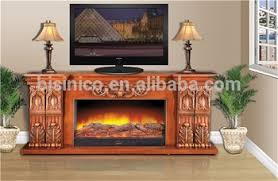 Electric Fireplace Heater Tv Stand by European Wood Color New Huge Frame Hearth Electric Fireplace