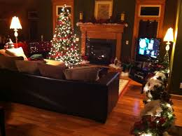 living room christmas decoration living room with tree home