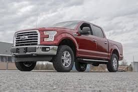 Ford F150 Truck Hats - 2in leveling lift kit w n2 0 shocks for 2015 2018 ford f 150
