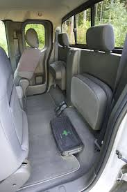 nissan frontier king cab 2009 nissan frontier king cab pro 4x rear seats folded picture