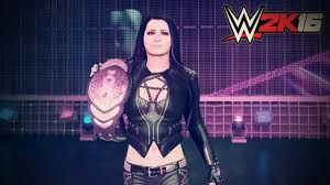 wwe 2k16 entrances paige youtube