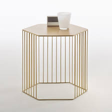 Wire Side Table Topim Metal Wire Bedside Table Or Side Table La Redoute Interieurs