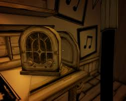 Small Office Desk Radio by Music Radio Bendy And The Ink Machine Wiki Fandom Powered By Wikia