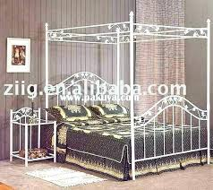 Canopy Bed Frames Steel Canopy Bed Frame Iron Metal Canopy Bed Frame Metal Canopy