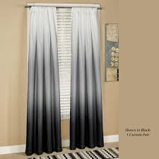 Black And Gold Drapes by Shades Ombre Curtains