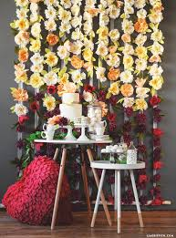 wedding backdrop flowers diy flower wedding backdrop tutorial with crepe blooms