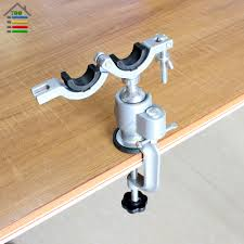 autotoolhome clamp on bench vises holder fit mini electric drill