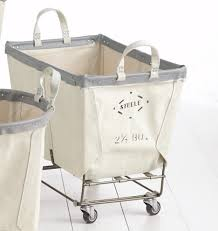 Canvas Laundry Hamper by 2 1 2 Bushel Steele Canvas Laundry Bin Rejuvenation