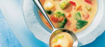 garden vegetable soup recipe dairy goodness
