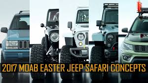 moab jeep safari 2017 2017 moab easter jeep safari concepts youtube