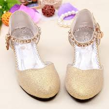 wedding shoes high aliexpress buy 2017 children glitter sandals kids