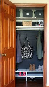 a quick coat closet makeover u2014 house for six