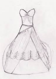 drawing wedding dresses pencil drawings by dress wedding dress easy draw