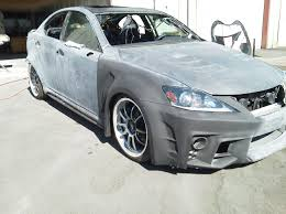 widebody lexus is350 custom vented fenders possibly in production suggestions page