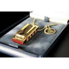 lady gold necklace images Hohner little lady key of c gold plated with necklace jpg
