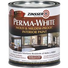 perma white mold and mildew proof interior paint walmart com