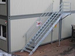 stahl treppe container zubehör stahltreppe 260 280 menzl gmbh