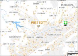 pratt map pratt city united states usa map nona