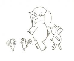 mo willems coloring pages intended to invigorate to color an image