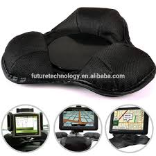 new universal black weighted beanbag in car gps dashboard mount