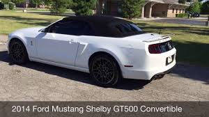 mustang shelby gt500 convertible 2014 ford mustang shelby gt500 convertible from rev up motors