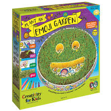 amazon com creativity for kids plant an emoji garden kit emoji