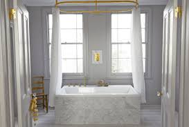 bathroom gold color with curtain holder also shower curtain
