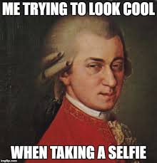 Album Cover Meme - mozart not sure memes imgflip
