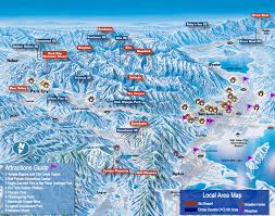 Utah Ski Resort Map by Local Area Map Of Northern Utah Utahs Best Vacation Rentals