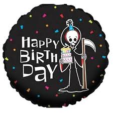 the hill balloon bouquet grim reaper the hill happy birthday balloon bouquet