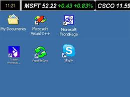 stock ticker find a desktop stock ticker for windows 7