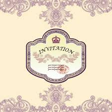 vintage butterfly vector invitation template free vector download