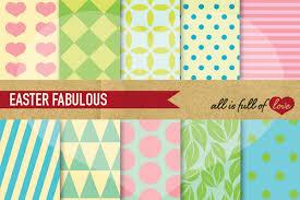 easter wrapping paper easter digital paper pastel background design bundles