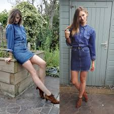 american biker boots maria g american apparel denim skirt wranglers vintage denim