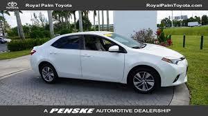 toyota car models 2014 used toyota corolla at royal palm toyota serving wellington royal