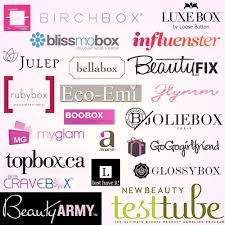 beauty sle box programs 12 best sle subscriptions images on beauty products