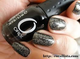 notd orly nail enamel black out revlon top speed nail enamel
