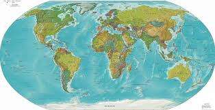 Political Map Us Large World Political Map