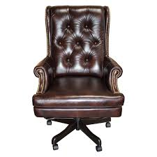 parker house prestige dc 112 leather desk chair hayneedle