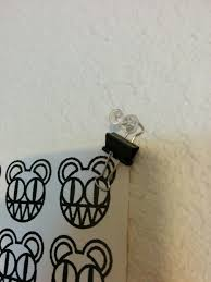 lpt use binder clips to hang posters without damaging them imgur