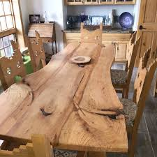 tree trunk dining table check out our newest dining table available now live edge