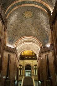 a rare look at the ornate interior of the woolworth building